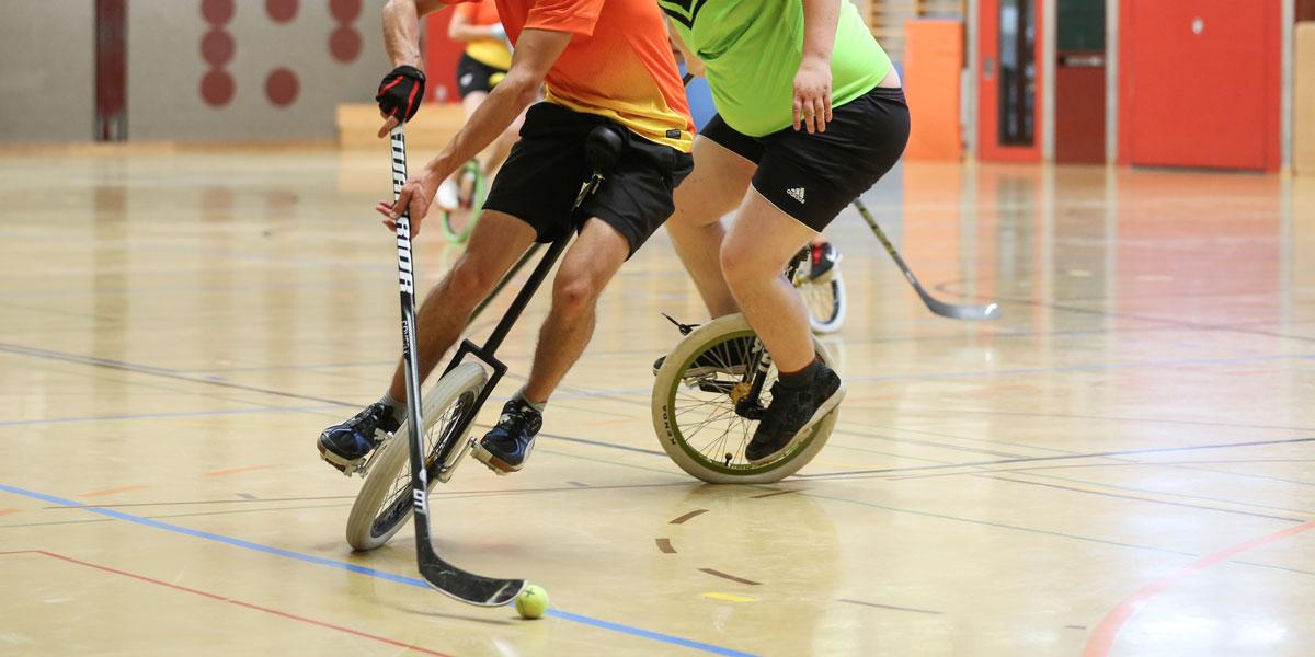 Einradhockey Liga - Swiss Indoor- & Unicycling