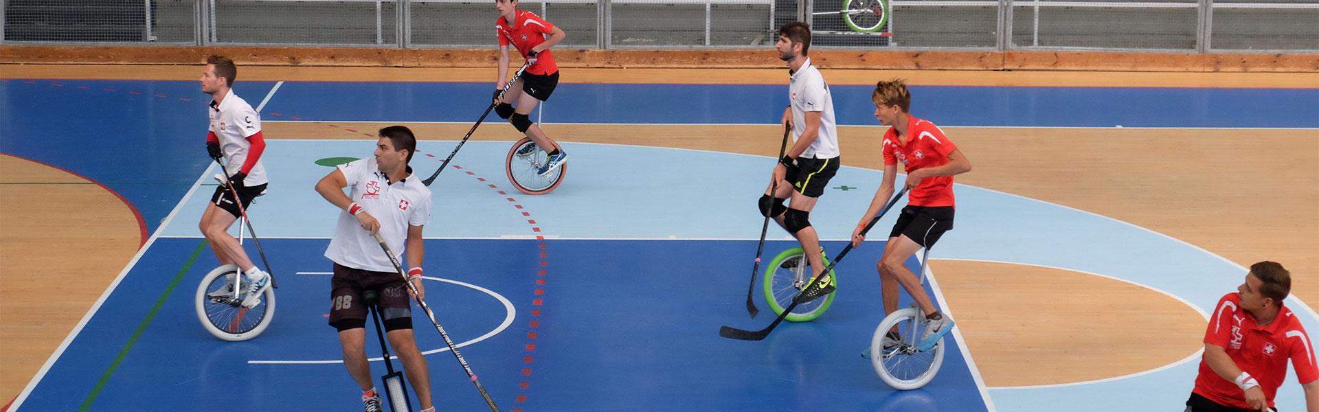 Einradhockey Nationalteam - Swiss Indoor- & Unicycling