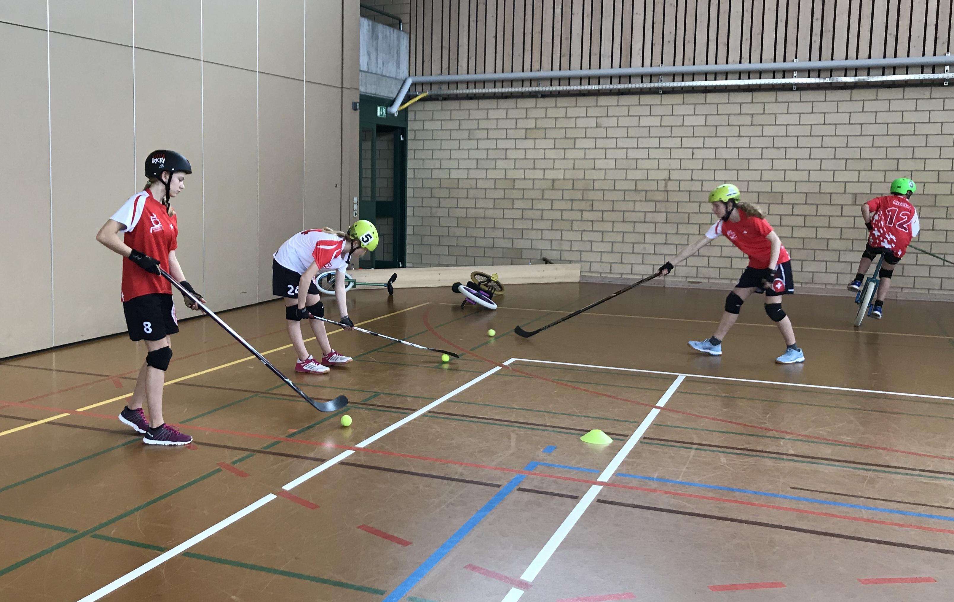 Vorschau Sportlager Filzbach - Swiss Indoor- & Unicycling